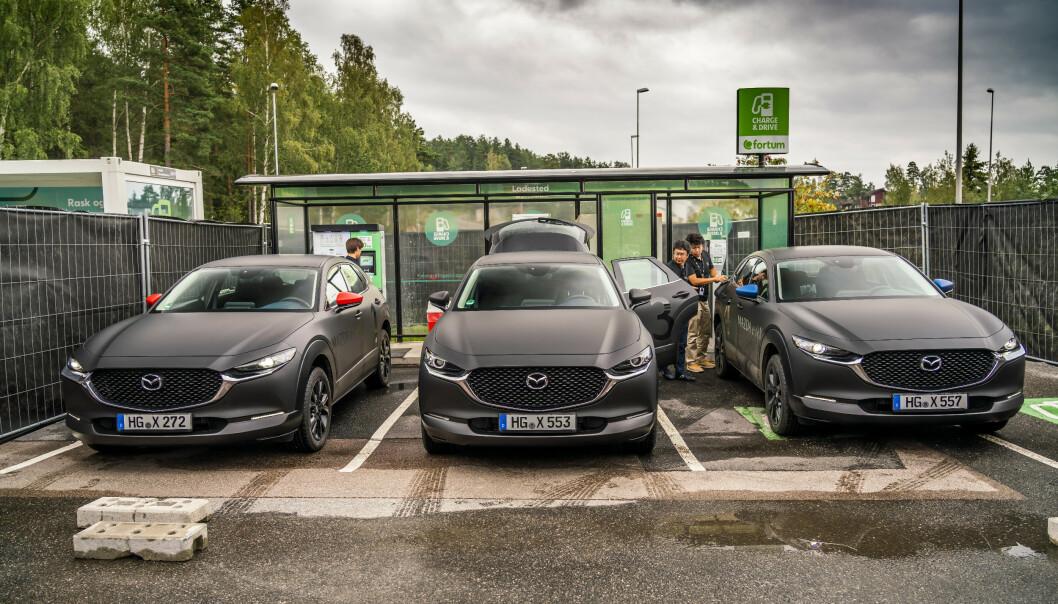 Vi har kjørt Mazdas nye elbil