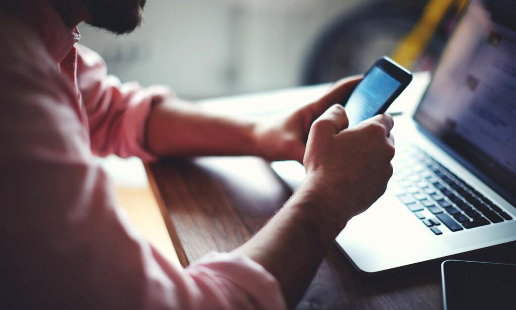 MOBILKAPRING: Nkom foreslår tiltak for å forhindre sjansene for ID-tyveri i form av mobilkapring. Foto: Shutterstock
