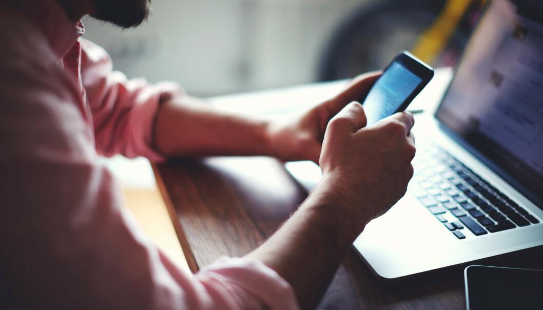 <strong>MOBILKAPRING:</strong> Nkom foreslår tiltak for å forhindre sjansene for ID-tyveri i form av mobilkapring. Foto: Shutterstock