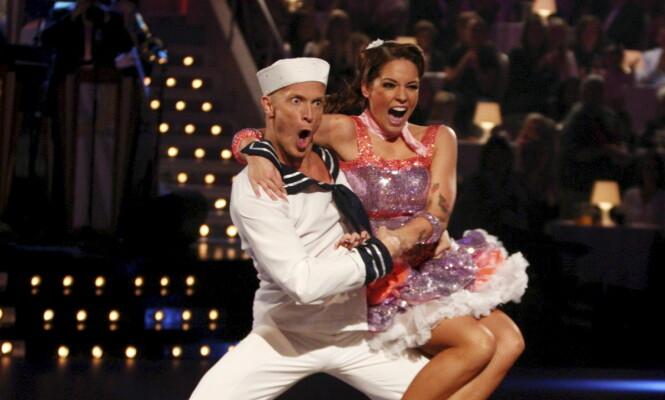 DEN GANG DA: Triana Iglesias og Tobias Karlsson danset sammen i 2009. Foto: NTB Scanpix