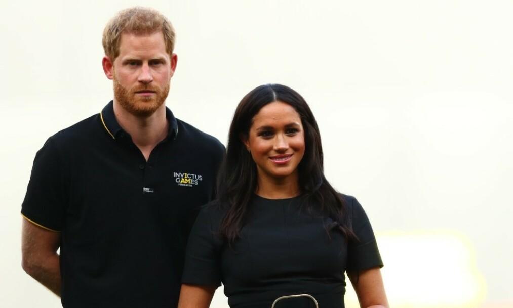 FLYKRITIKK: Forrige måned stormet det rundt prins Harry og hertuginne Meghan etter at det kom frem at de hadde benyttet seg av privatfly flere ganger i sommer. Nå tar førstnevnte grep ved å lansere et nytt miljøvennlig prosjekt ved navn Travalyst. Foto: NTB Scanpix