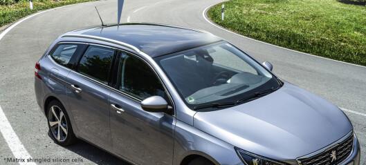 Solcelletak til elbiler