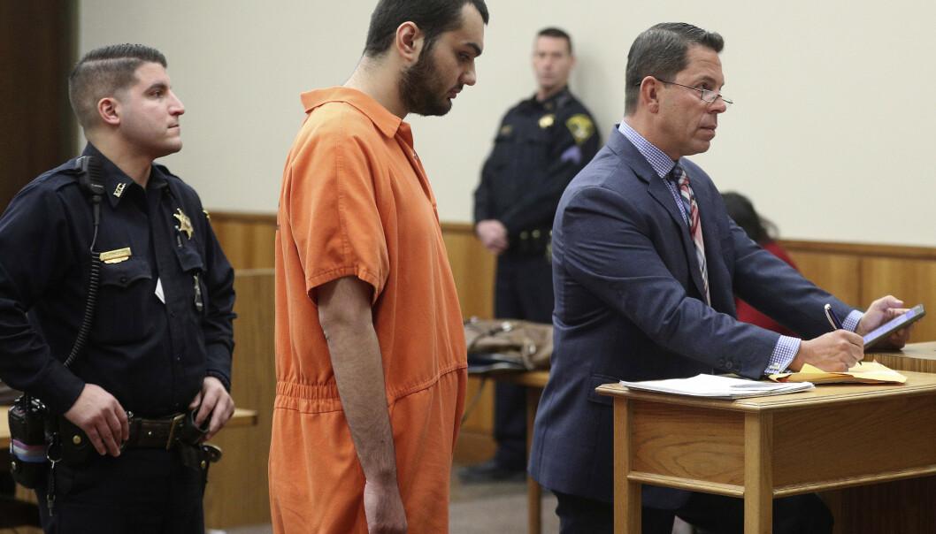 Vincent Vetromile, som nå er dømt til sju års fengsel, i et arkivbilde tatt i mars. Foto: Jamie Germano / AP / NTB scanpix