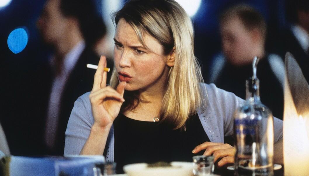 IKONISK: Renée Zellweger som filmheltinnen vi alle ventet på i «Bridget Jones's Diary». FOTO: Scanpix