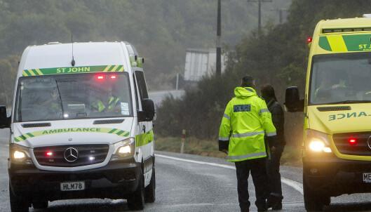Fem turister omkom i bussulykke på New Zealand