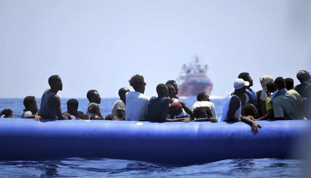 Omfattende undersøkelse om menneskene som flykter over Middelhavet: - Stikk i strid med gjengs oppfatning