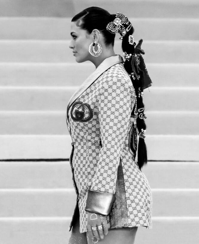 ASHLEY GRAHAM: La deg inspirere av supermodellens Met-galla-look. Foto: Scanpix