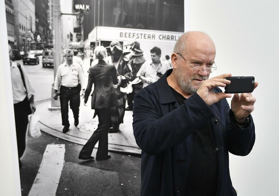 PETER LINDBERGH: Stjernefotografen ble 74 år gammel. Foto: Scanpix