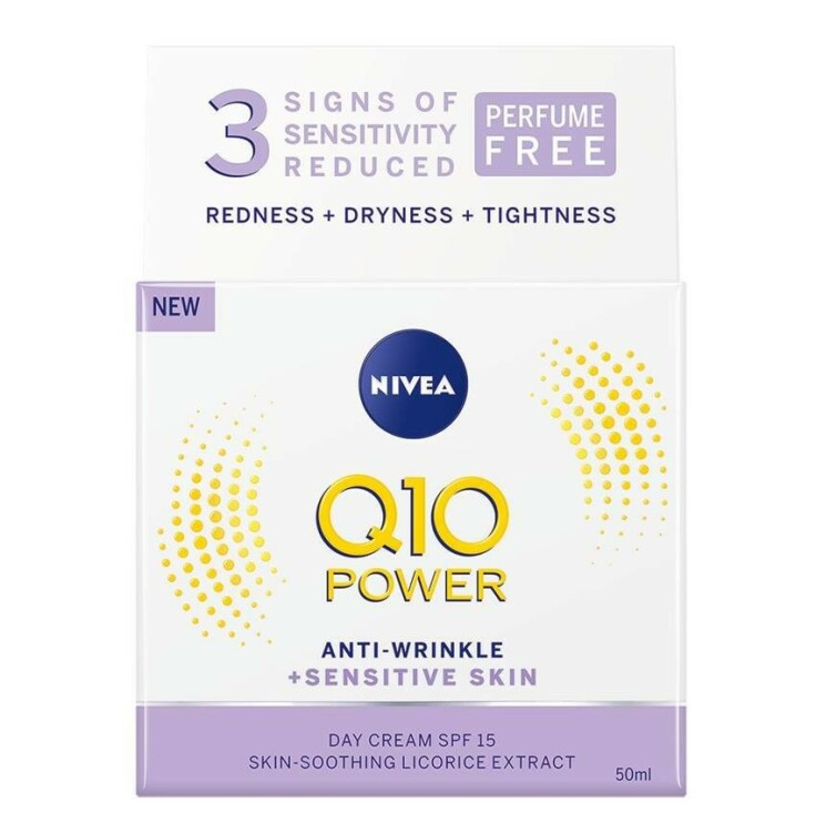 Dagkrem   NIVEA   https://www.nivea.no/produkter/q10-power-anti-wrinkle-plusfirming-nourishing-day-cream-4005808918959006863.html?utm_source=kk&utm_medium=native&utm_campaign=NO_C204_NIV_Face_Q10Care