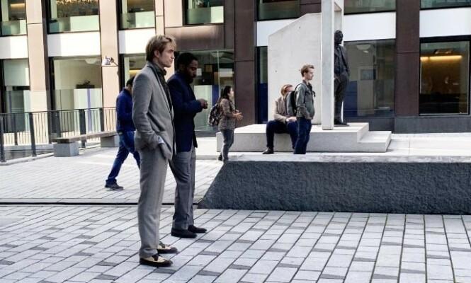 <strong>NORGESBESØK:</strong> Robert Pattinson overrasket nok mange da han plutselig dukket opp i Oslo. Foto: Torun Støbakk / Dagbladet