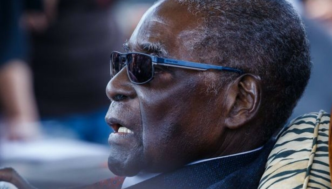 Robert Mugabe er død