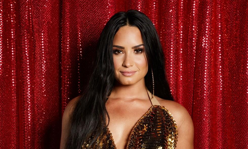 BILDEREDIGERING: Demi Lovato innrømmer å ha retusjert bildene sine for å endre på kroppen sin. Foto: NTB Scanpix