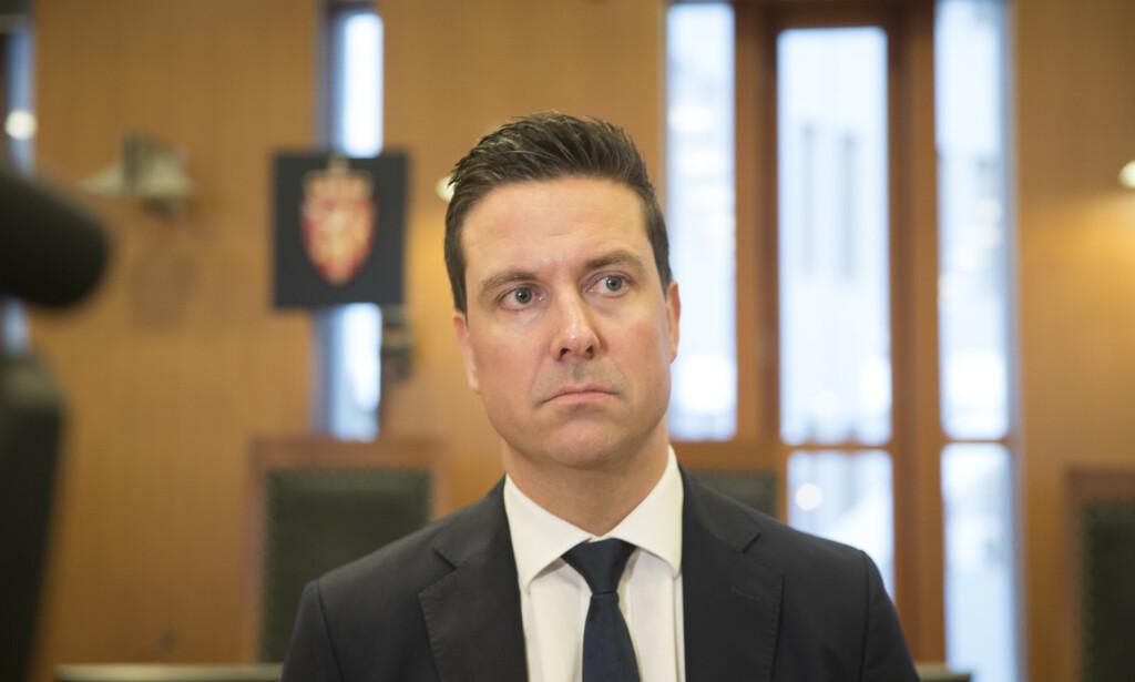 Advokat Øyvind Bratlien er forsvarer for Lars Harnes. Foto: Vidar Ruud / NTB scanpix