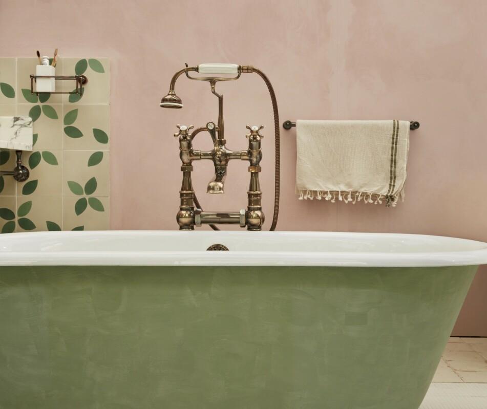FORNY HJEMMET: Hva med å male badekaret, for eksempel?