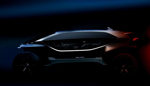OFFROAD: Nye Audi AI:Trail Quattro. Foto: Produsenten.