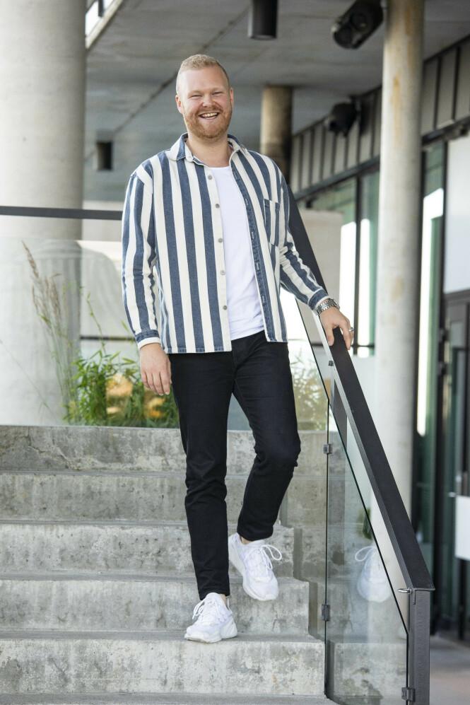 - GLEDESSPREDER: Sales manager Mathias Scott Pascual (27). Foto: Tor Lindseth / Se og Hør