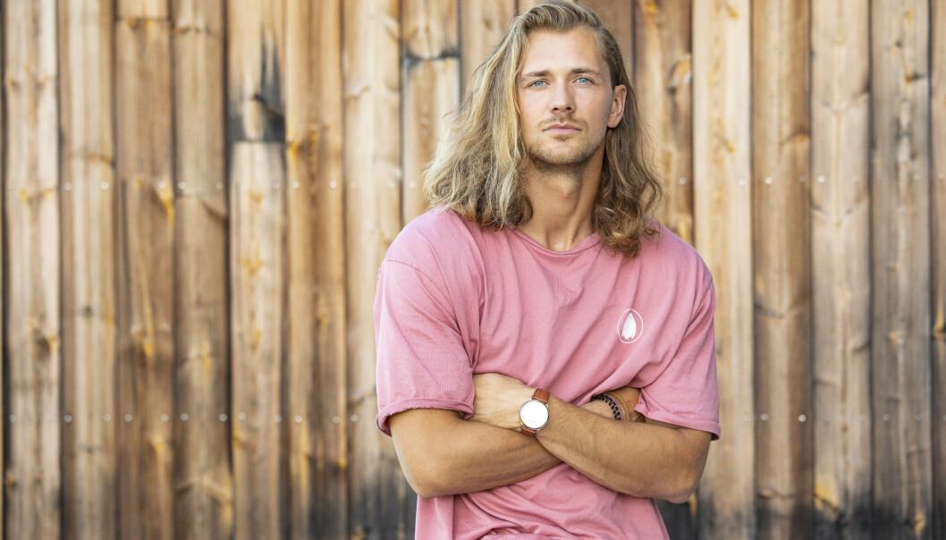 - NYE UTFORDRINGER: Tømrer og dørvakt Leif Kristian Tindeland (27). Foto: Tor Lindseth / Se og Hør