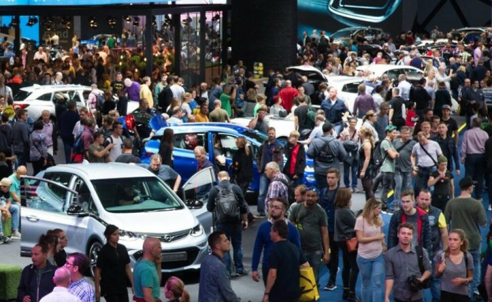 IAA 2019: Om få dager åpner Frankfurt Motor Show 2019 dørene for verdenspressen. Foto: IAA