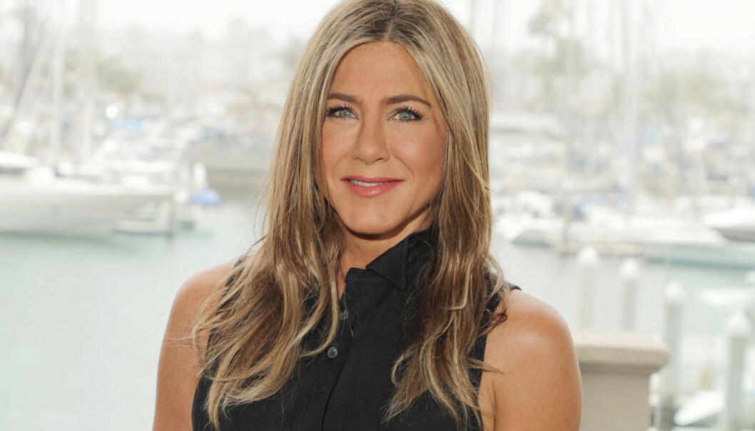 <strong>JENNIFER ANISTON:</strong> Hollywood-stjernen er lei av at folk henger seg opp i alderen, og sier at hun aldri har følt seg bedre. Foto: NTB scanpix