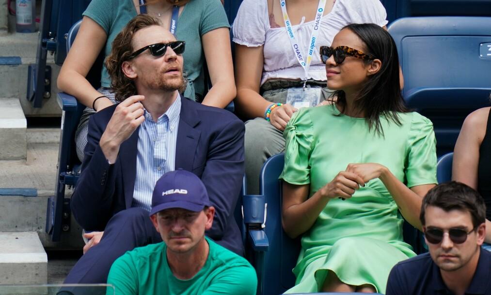 HEMMELIG ROMANSE: Tom Hiddleston og Zawe Ashton har jobbet sammen i flere måneder, og skal underveis ha fått sterke følelser for hverandre. Foto: NTB Scanpix