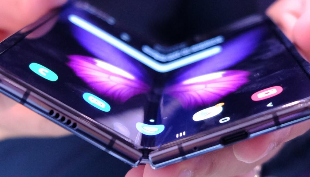 Vi har prøvd Samsungs brettbare mobil