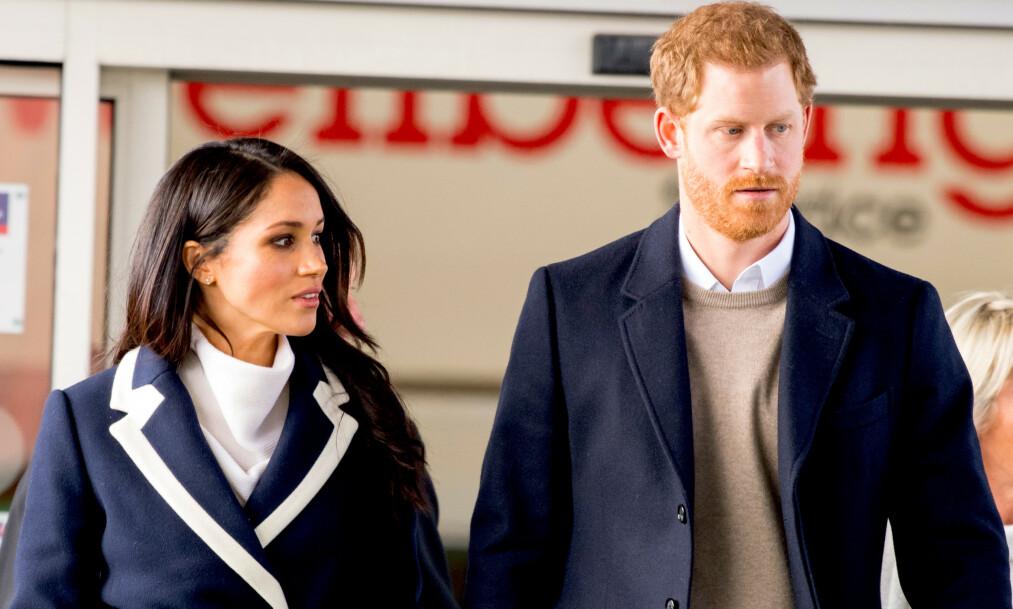 REFSES: Prins Harry og hertuginne Meghan refses av en av Storbritannias mest kjente kongehuseksperter, etter skandalesommeren de har lagt bak seg. Foto: NTB scanpix