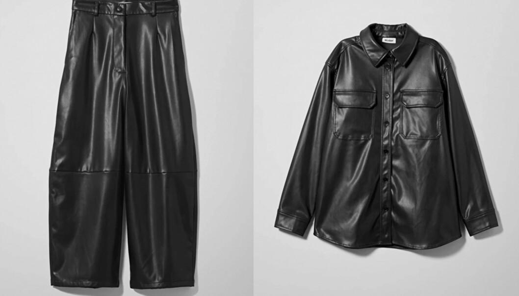 Bukse (kroner 500) og jakke (kroner 500) fra Weekday. Foto: Produsenten