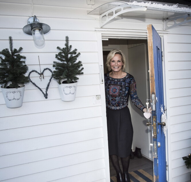 <strong>ÅPNET OPP:</strong> Dagbladet var nylig på besøk hos Ingeborg Myhre. Bildet er fra et tidligere besøk. Foto: Lars Eivind Bones / Dagbladet