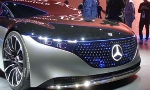 image: Mercedes' elektriske framtid