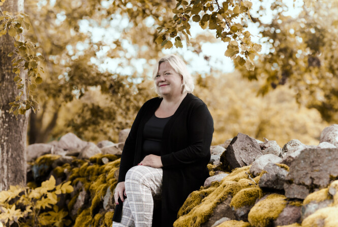 Å LEVE MED SORGEN: - Det som er endret er at i dag, når jeg er glad, er jeg like glad som før. FOTO: Astrid Waller