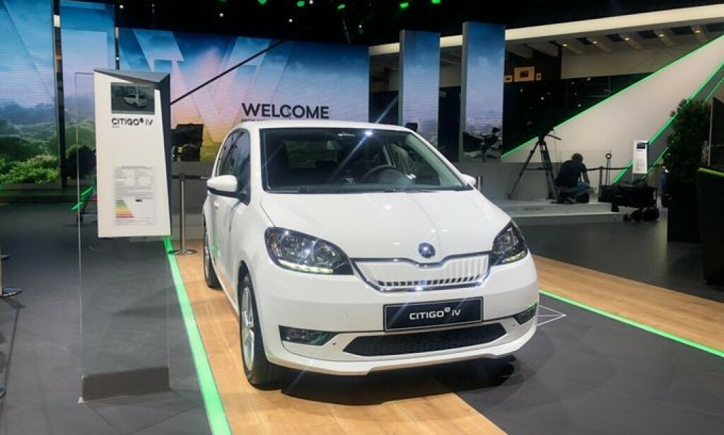 BYBIL: Škodas nye bybil Citigo e iV kommer allerede i januar 2020. Foto: produsenten