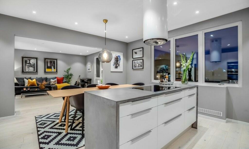 STORT: Nicolay Ramm og Josephine Leine Granlies leilighet er på hele 111 kvadratmeter, og har en stiv prislapp. Foto: Anders Kjøndal, Luxe