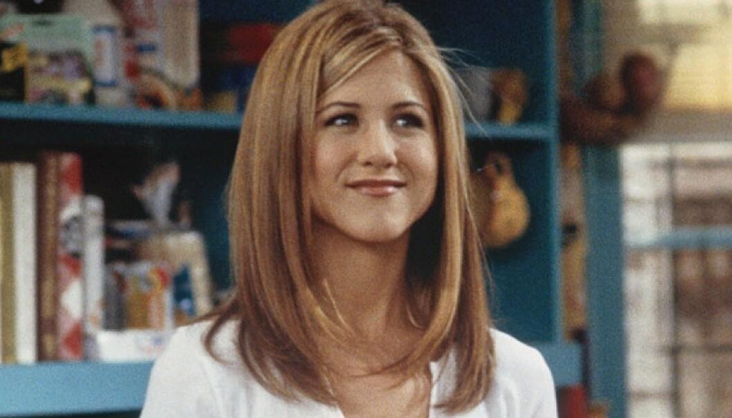 SEERFAVORITT: Jennifer Aniston gjorde enorm suksess som den sjarmerende, men noe bortskjemte Rachel Green i «Friends». FOTO: NBC