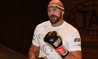 I RINGEN: Tyson Fury. Foto:  Ethan Miller/Getty Images/AFP/NTB Scanpix