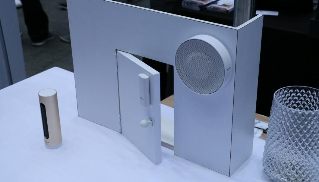 <strong>SMART ALARM SYSTEM:</strong> Netatmo lanserer et nytt overvåkingssystem for innendørsbruk. Foto: Martin Kynningsrud Størbu