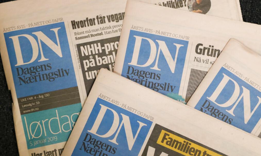 DET KUTTES: Eierselskapet til Dagens Næringsliv, NHST, skal bli lønnsomt. Det har fått konsekvenser for Morgenbladet, og ansatte i DN er bekymret. Foto: NTB Scanpix