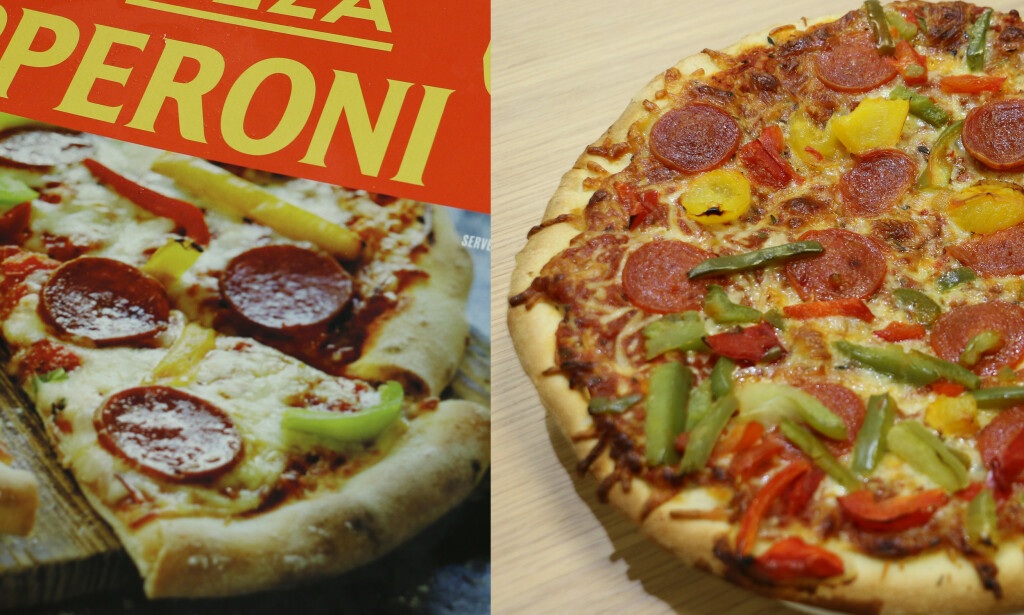 Rema 1000 Pizza Pepperoni. Foto: Berit B. Njarga