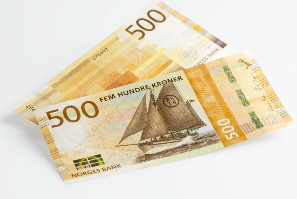 PENGER TILGODE? Boligeiere i Oslo som har betalt inn eiendomsskatt til kommunen for 2016 og 2017, får nå pengene tilbake inn på konto. Foto: Norges Bank