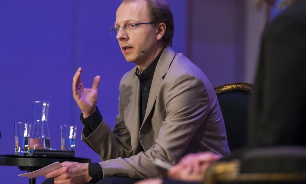 FORSKER: Bjørn Hallvard Samset, seniorforsker på CICERO, senter for klimaforskning. Her avbildet i paneldebatt på Nobel Peace Prize Forum i 2018. Foto: Heiko Junge / NTB scanpix
