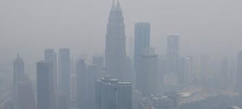 Skogbranner legger storbyene i røyk