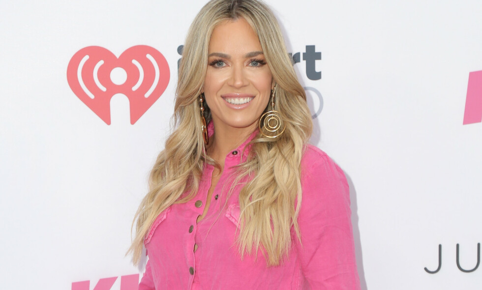 GRAVID: Teddi Mellencamp fra «Real Housewives of Beverly Hills» er gravid for tredje gang, uventet og uten fertilitetsbehandling. Foto: NTB Scanpix