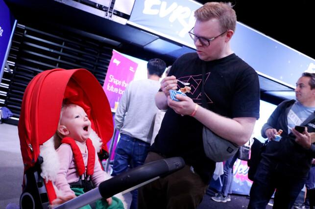 Evry sin stand på JavaZone 2019. 📸: Ole Petter Baugerød Stokke