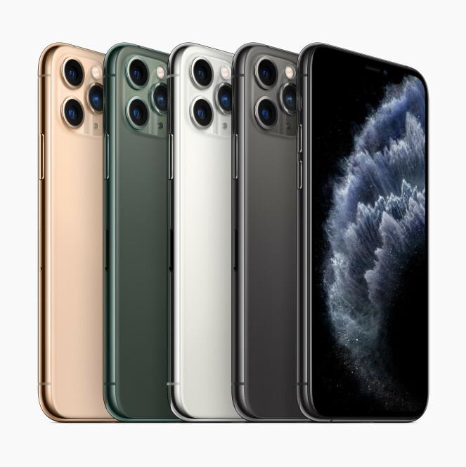 iPhone 11, iPhone 11 Pro eller iPhone 11 Pro Max?