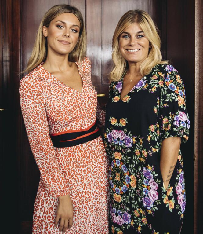 TV-STJERNER: Bianca og mora Pernilla er blitt svært populære både i Sverige og Norge de siste åra. I sin egen tv-serie deler de så å si alt fra hverdagen sin. Foto: Erik Simander / TT/ NTB Scanpix
