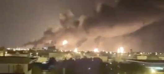 «Verdens viktigste oljeanlegg» i brann etter droneangrep