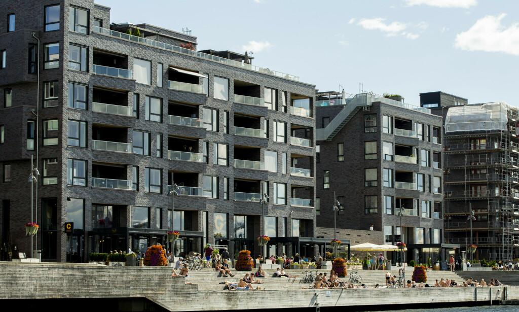 Et sårbart boligmarked tas med i vurderingen når Norges Bank vurderer om styringsrenten skal videre oppover eller ikke. Foto: Vegard Wivestad Grøtt / NTB scanpix
