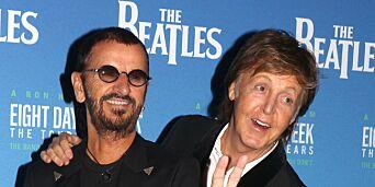 image: Paul og Ringo spiller inn «ukjent» Lennon-sang