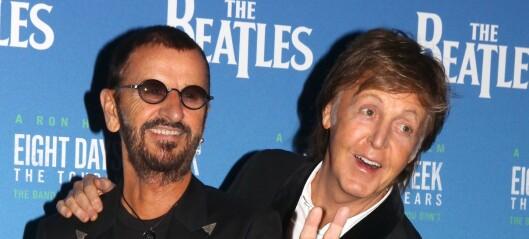 Paul og Ringo spiller inn «ukjent» Lennon-sang