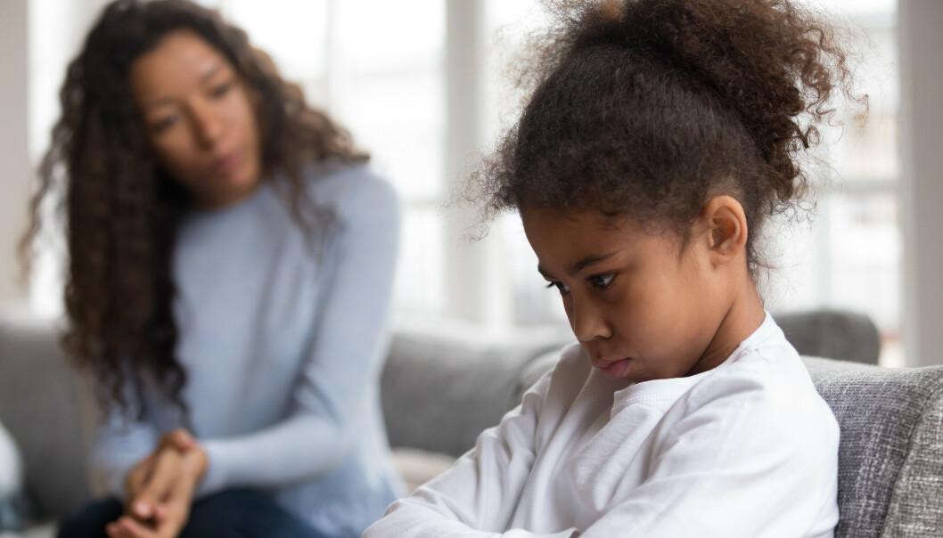 MISTE TÅLMODIGHETEN: Hjelper det ikke å telle til ti inni deg? Ifølge ekspertene finnes det andre metoder du kan bruke for å forebygge det å miste tålmodigheten med barna. FOTO: NTB Scanpix