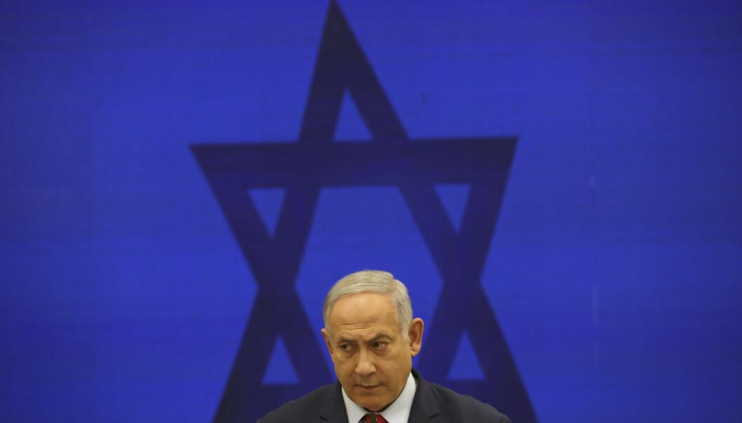 Statsminister Benjamin Netanyahu lover å annektere bosetningene som er bygd i de palestinske områdene dersom han vinner tirsdagens valg i Israel. Verdenssamfunnet har slått fast at bosetningene er ulovlige. Foto: AP / NTB scanpix